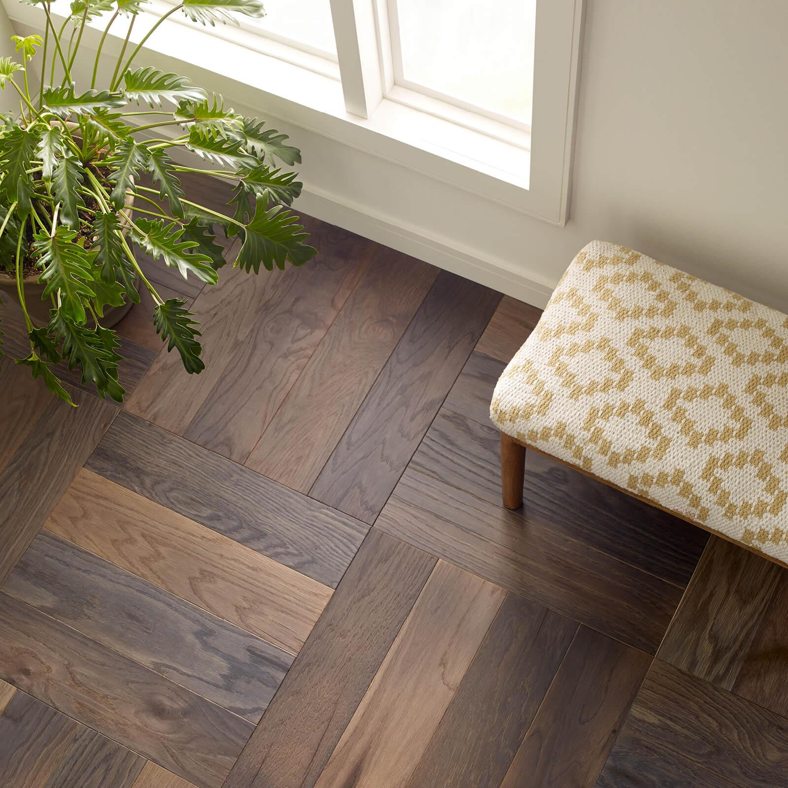 Old World Herringbone Hardwood | BMG Flooring & Tile Center