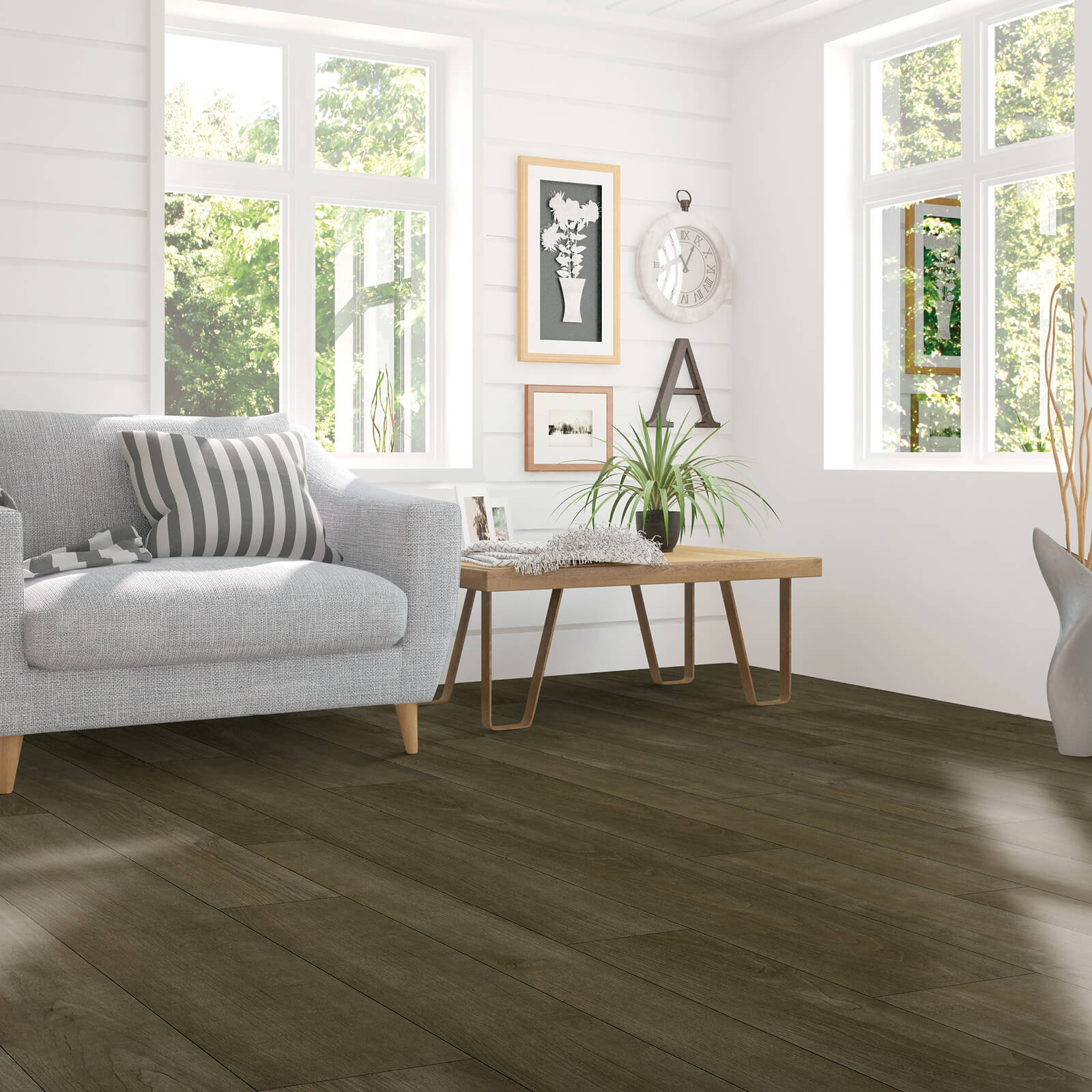 Laminate floors are the perfect substitute for hardwood floors | BMG Flooring & Tile Center