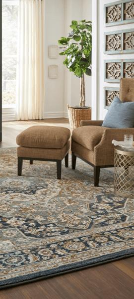 Area Rugs cover on hardwood floor   BMG Flooring & Tile Center