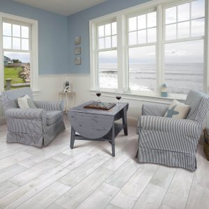 Bryson Valley Coastal Beach Tile flooring of living room | BMG Flooring & Tile Center