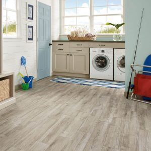 Century Barnwood Luxury Vinyl Tile - Weathered Gray | BMG Flooring & Tile Center