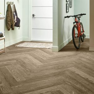 Charlestown Oak Luxury Vinyl Tile - Mocha | BMG Flooring & Tile Center