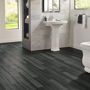 Empire Walnut Luxury Vinyl Tile - Raven | BMG Flooring & Tile Center