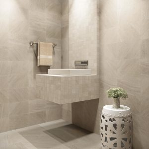 Glacier Cove Cresent Beige Tile flooring | BMG Flooring & Tile Center