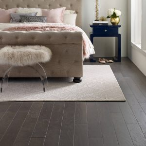 Area Rug Northington Smooth Greystone Urban Glamour Bedroom | BMG Flooring & Tile Center