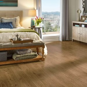 Urban Walnut Laminate - Scraped Natural | BMG Flooring & Tile Center