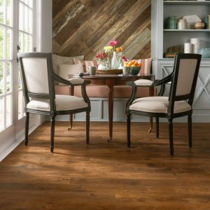 Woodland Hickory Laminate - Scraped Spice | BMG Flooring & Tile Center