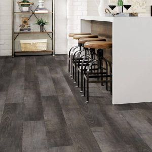 Woodward Winds Rigid Core - Gusty Gray Vinyl Tile flooring | BMG Flooring & Tile Center