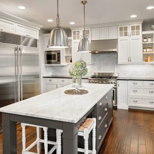 Cabinets white wood | BMG Flooring & Tile Center