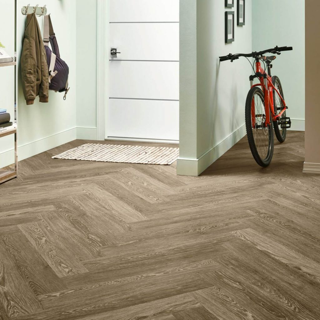 Bicycle on flooring | BMG Flooring & Tile Center